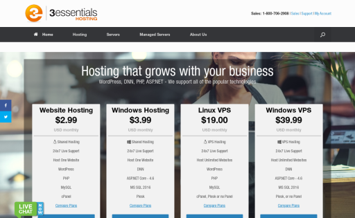 3essentials Hosting
