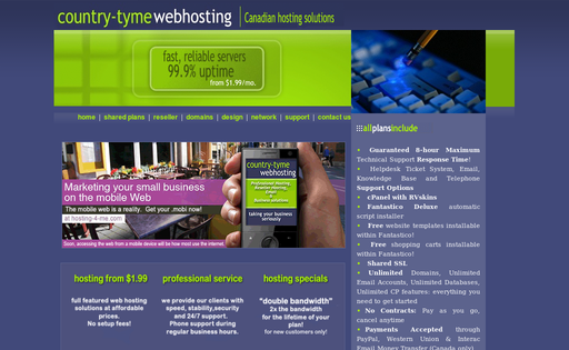 Country-Tyme Web Hosting