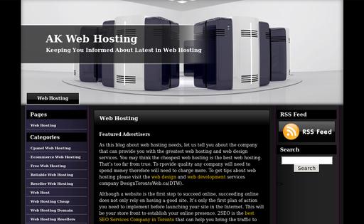 AK Web Hosting