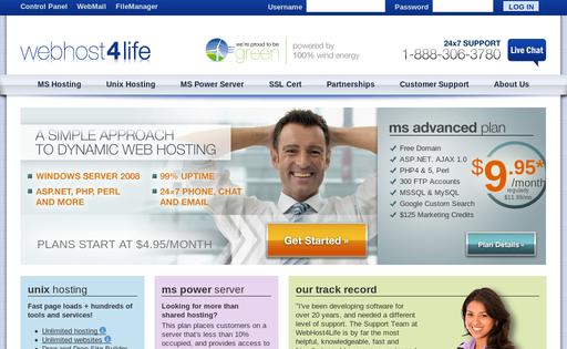 Webhost4life