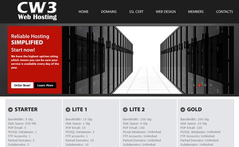 CW3 Web Hosting