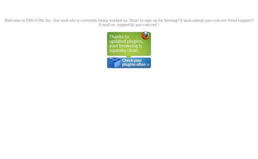 Pas-Com Web Hosting