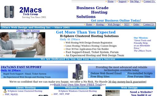 2Macs Web Design and Hosting